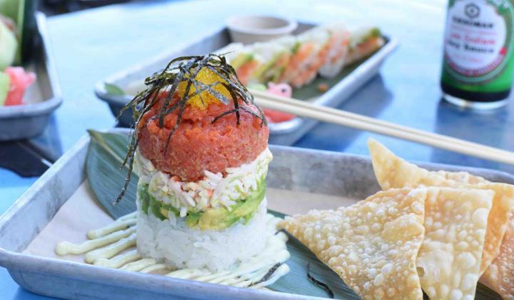 Sushi dish from Hōru Sushi