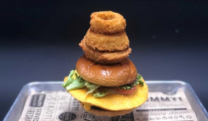 Main Event's Area 51 Burger