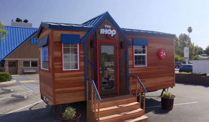 The world's tiniest IHOP restaurant.