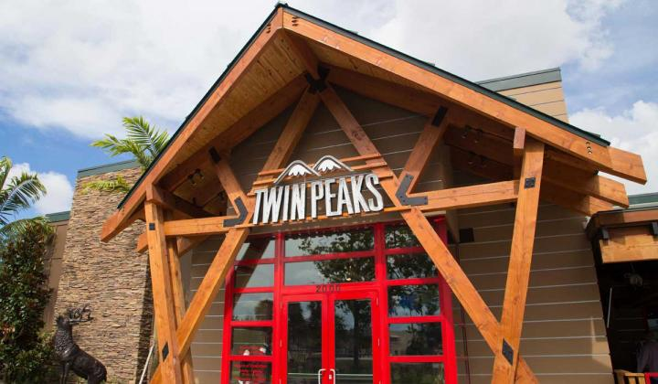 Exterior of Twin Peaks.
