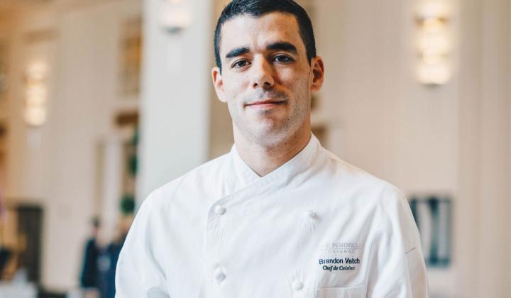 Chef Brandon Veitch.
