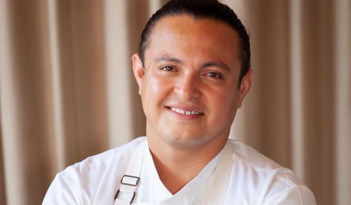 Corporate chef Juan Rivera.
