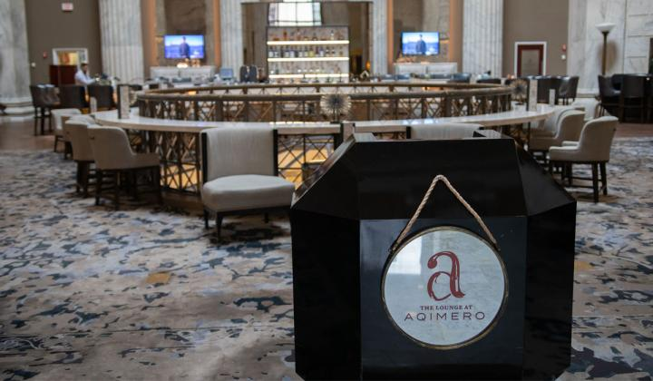 The Aqimero located in the Ritz Carlton in Philadelphia.