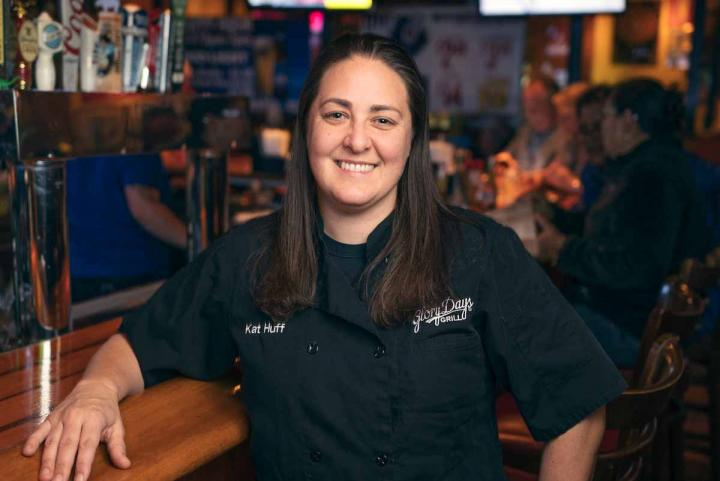 Kat Huff of Glory Days Grill