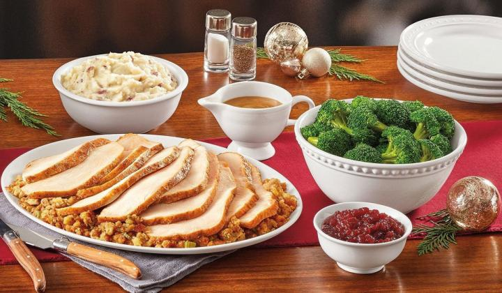 Turkey and Thanksgiving sides from Denny's
