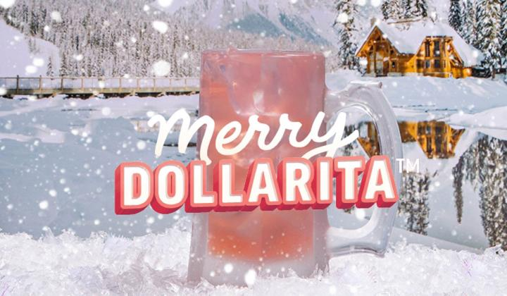 Applebee's Merry DOLLARITA.