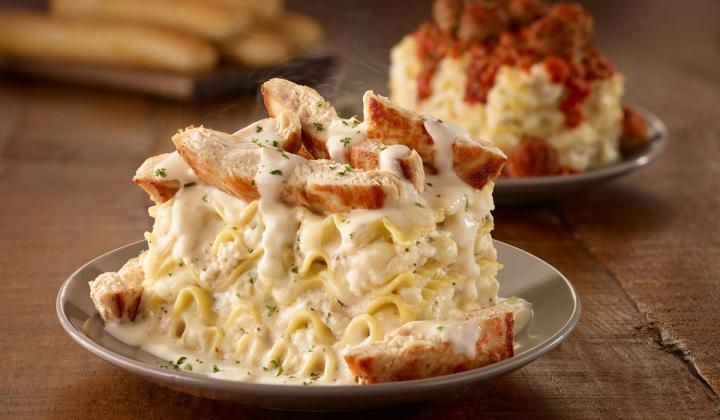Olive Garden's Lasagna Mia.