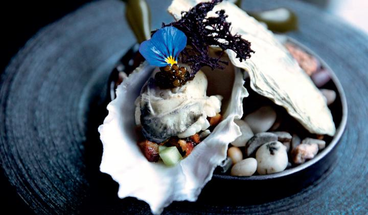 Like snowflakes, n/naka's dishes are one of a kind and stunning in their intricacies.
