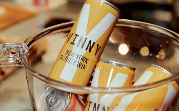 Canned wine label Vinny is getting the word out on the Finger lakes Wine region of New York.
