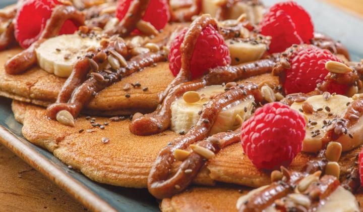 Vanilla Chai Pancakes.