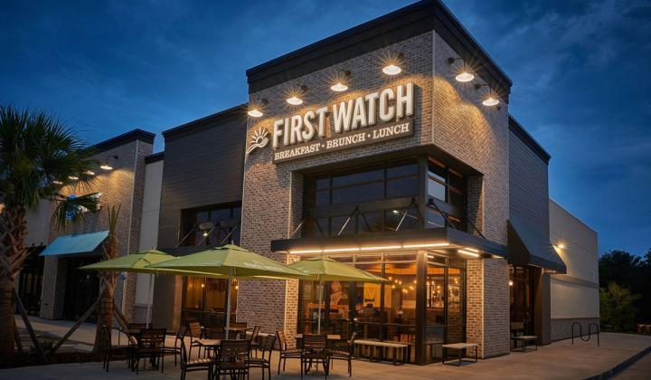 First Watch exterior of restaurant.