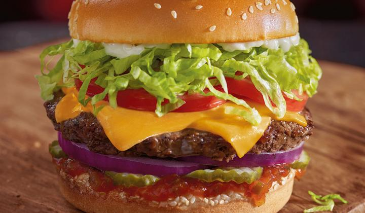 Red Robin burger.