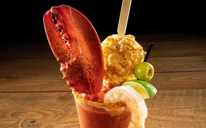 Red Lobster's Lobster Claw Bloody Mary.