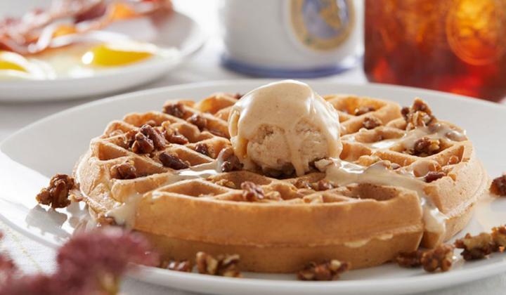Sweet Potato Waffle.