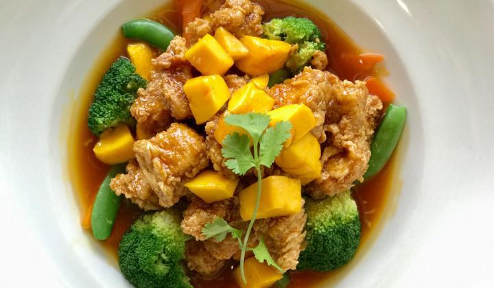 Mango Mandarin Chicken.