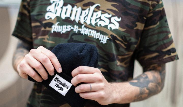 Boneless Thugs and Harmony hat.