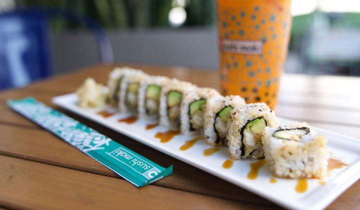 The brand'smenu features everything from traditional sushi and sashimi to creative poke bowls to vegan rolls, dumplings, salads, pad thai, Truffle Ponzu Salmon, Lava Shrimp and Tuna Tataki.