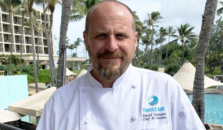 Turtle Bay Resort chef David Intonato.