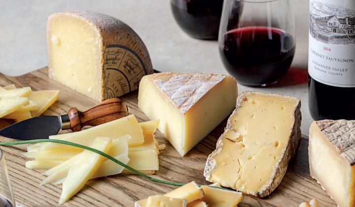 Jordan Vineyard & winery adds depth to its signature wines through cheese pairings.