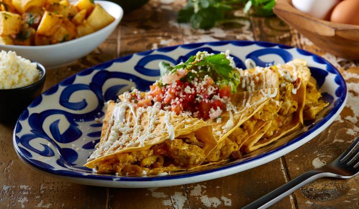 Mexican Sugar's Brunch Quesadilla.