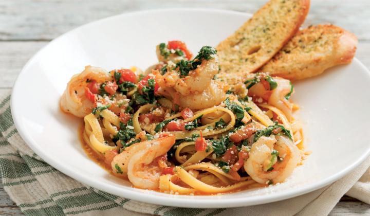 Houlihan's Sedona Shrimp Pasta