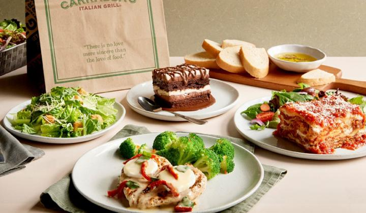 Carrabba's Italian Grill Easter pack.