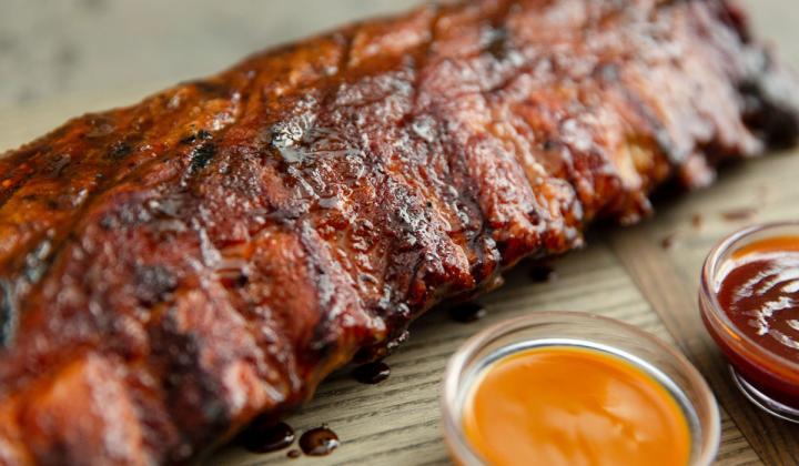 Smokey Bones ribs.