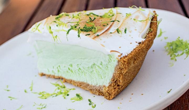 Guests have yet to try peasants Feast's fare in the restaurant, but that hasn't stopped them from enjoying dishes like Nannie's frozen lime pie.