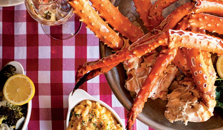 Even restaurants as rooted in the dine-in experience as the Crab Cellar are finding ways to bring their signature items to patrons' homes.