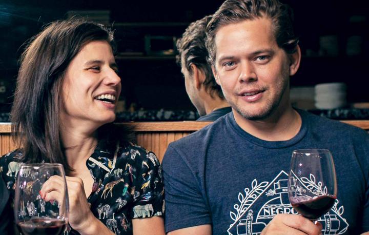 Luciana Giangrandi and Alex Meyer