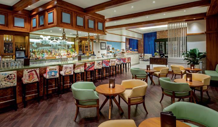 Restaurants like JWB Prime Steak & Seafood may use plexiglass to keep guests safe.