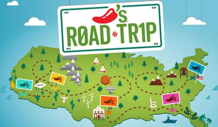Chili's road map graphic.