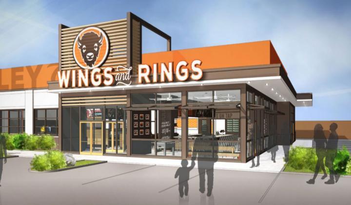 Buffalo Wings & Rings prototype store.
