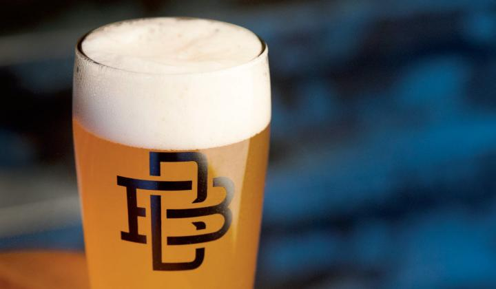 Though Boomtown Brewery specializes in on-tap beer, it began canning during the pandemic.