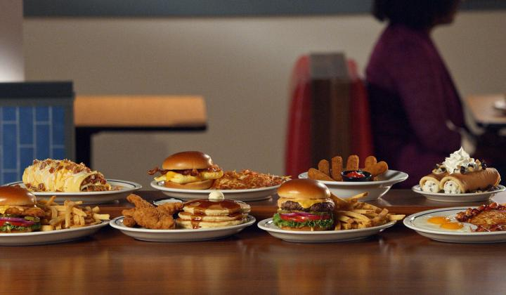 IHOP plate of food.