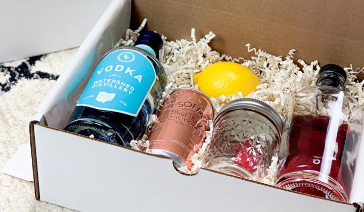 In addition to ready-made drinks, Cameron Mitchell Restaurants are also selling cocktail kits.