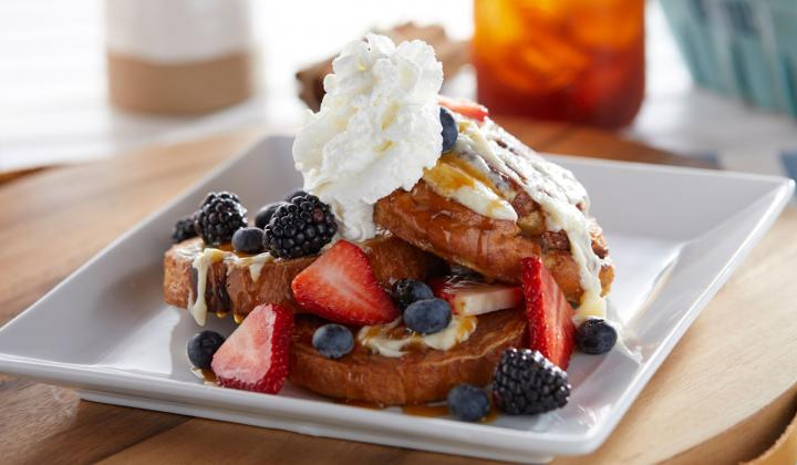 French toast at Another Broken Egg Cafe.