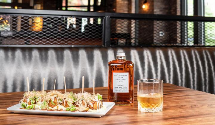 Jinya Ramen Bar whiskey pairings.