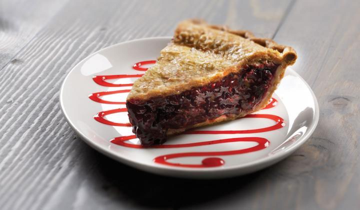 A slice of pie.