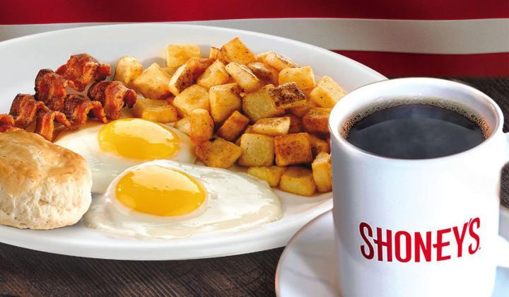 Shoney's breakfast.
