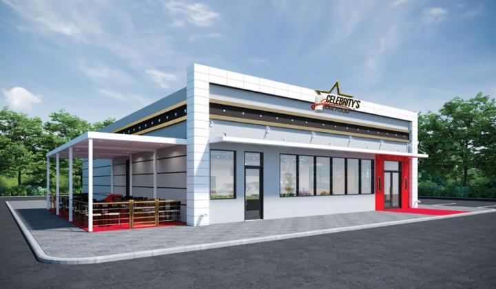 Celebrity's Soul Food rendering of restaurant.