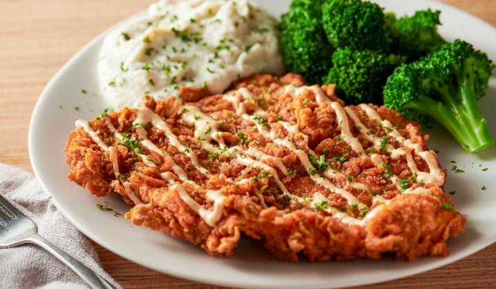 Bloomin' Fried Chicken.