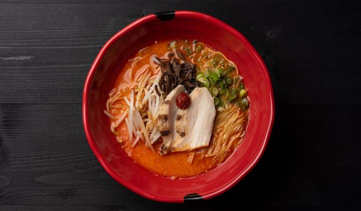 bushi by JINYA bowl of ramen.