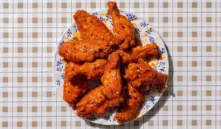 Jolene's Nashville Hot wings.