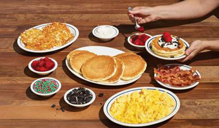 IHOP Holiday Family Feast.