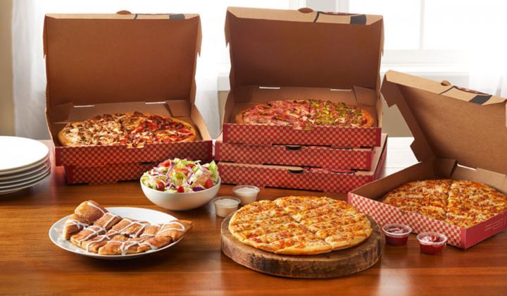 Pizza Inn food.