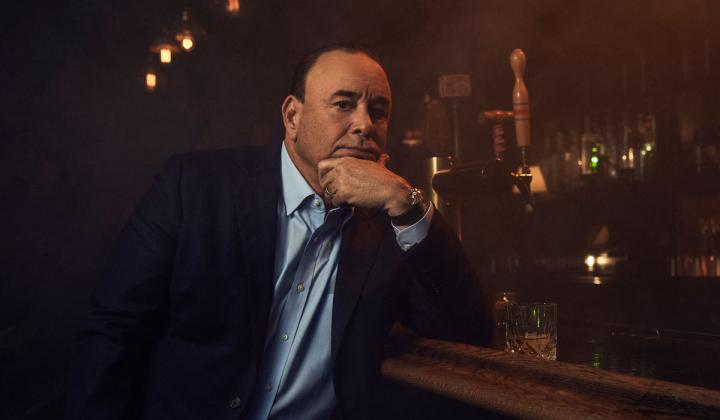 Jon Taffer poses in his restaurant.