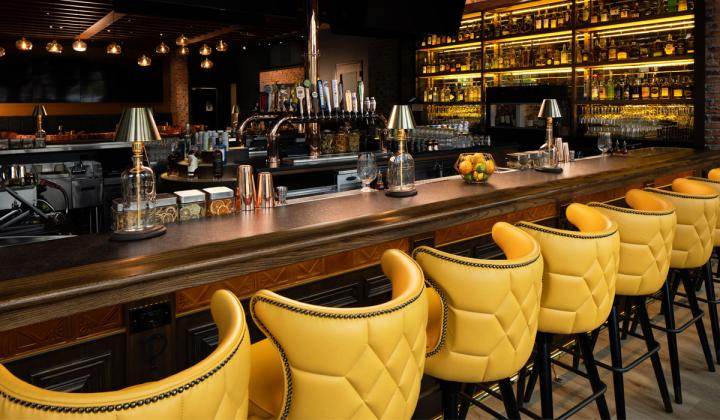 Taffer's Tavern bar.