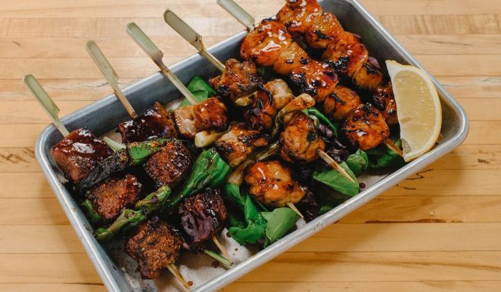 Yan Pan Asian food.