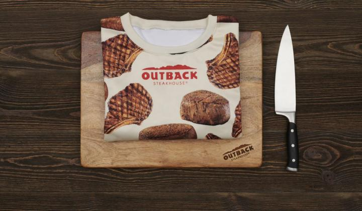 Outback Steakhouse sweats.